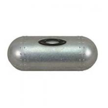 Large Metal Sunglass Vault - Silver