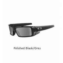 Gascan Sunglasses - Polished Black/Grey