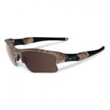 King's Woodland Camo Flak Jacket Sunglasses - Warm Grey by Oakley in Ashburn Va
