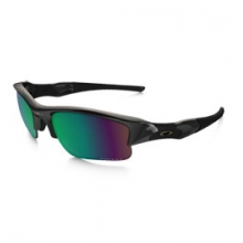 Flak Jacket XLJ Prizm H20 Shallow Polarized Sunglasses - Polished Black/Prizm Fresh Water Polarized