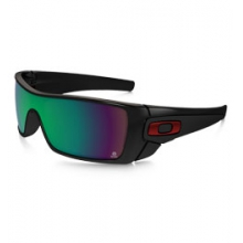 KVD Batwolf Prizm H20 Shallow Polarized Sunglasses - Polished Black/Prizm Fresh Water Polarized by Oakley in Ashburn Va