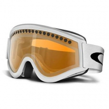 L-Frame Snow Matte White Goggles