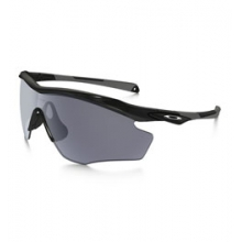 M2 Frame XL Sunglasses - Men's - Polished Black/Grey by Oakley