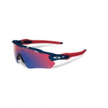 Radar EV Path Team USA Iridium Sunglasses - Men's - Dark Blue/Red Iridium