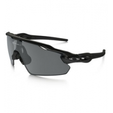 Radar EV Pitch Sunglasses - Men's - Polished Black/Grey