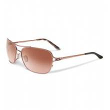 Conquest Aviator Sunglasses - Women's - Rose Gold Brown Mosaic/VR50 Brown Gradient