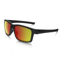 Mainlink Iridium Polarized Sunglasses - Men's - Matte Black/Ruby