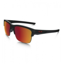 Thinlink Iridium Polarized Sunglasses - Men's - Matte Black/Torch