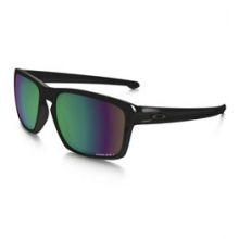 Sliver Prizm Polarized Sunglasses - Men's - Polished Black/Prizm Fresh Water Polarized by Oakley