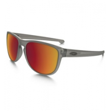 Sliver R Iridium Polarized Sunglasses - Men's - Matte Grey Ink/Torch Iridium Polarized by Oakley