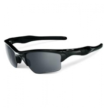 Half Jacket 2.0 with Iridium Lens - Polished Black/Black