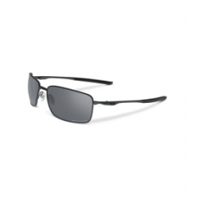 Square Wire Polarized Sunglasses - Men's - Carbon/Grey Polarized by Oakley