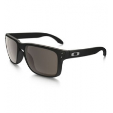 Holbrook?Sunglasses - Men's - Matte Black/Warm Grey by Oakley