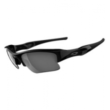 Flak Jacket XLJ Sunglasses - Jet Black/Black Iridium by Oakley
