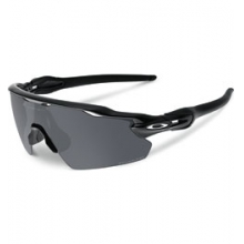 Radar EV Pitch Polarized Sunglasses - Polished Black/Black Iridium Polar