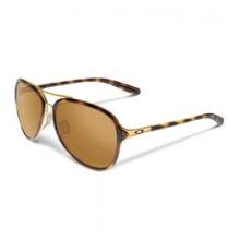 Kickback Polarized Pilot Sunglasses - Women's - Gold/Tortoise/Bronze Polarized by Oakley