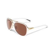 Kickback Iridium Pilot Sunglasses - Women's - Gold/White/VR28 Black Iridium