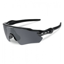 Radar EV Path Sunglasses - Polished Black/Black Iridium Polar