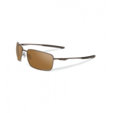 Square Wire Polarized Iridium Sunglasses - Men's - Tungsten/Tungsten Iridium Polarized by Oakley in Ashburn Va
