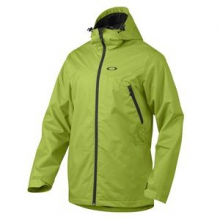 Patrol Shell Snowboard Jacket Men's, Peridot Green, M by Oakley