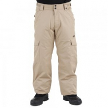 Cascade BioZone Insulated Snowboard Pant Men's, New Khaki, S by Oakley