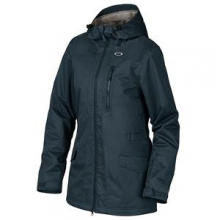 Catchline BioZone Insulated Snowboard Jacket Women's, Navy Blue, L by Oakley