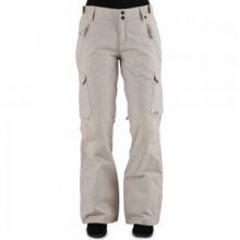 Snapshot BioZone Insulated Snowboard Pant Women's, Wood Grey, L by Oakley