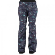 Tippy Toe BioZone Insulated Snowboard Pant Women's, Navy Floral, L