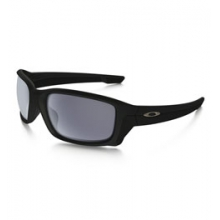 Straightlink Sunglasses - Men's - Matte Black/Grey by Oakley