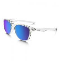 Trillbe X Iridium Polarized Sunglasses - Men's - Polished Crystal Clear/Sapphire Iridium Polarized