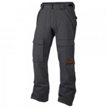 Hawkeye BZS Shell Snowboard Pant Men's, Black, L