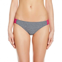 Heather Tab Side Bathing Suit Bottoms