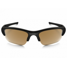 Flak Jacket XLJ Sunglasses Polished Black/Bronze Polarized
