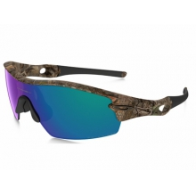 Radar Pitch Sunglasses Woodland Camo/Shallow Blue Polarized
