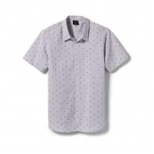 Men's Skull SS Woven Shirt