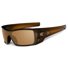 Batwolf Sunglasses - Polished Rootbeer Frame, Dark Bronze Lens