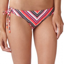 Good Vibes String Bikini Bottom - Women's: Pink Blast, Small