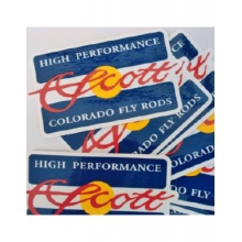Colorado Flag Sticker by Scott Fly Rod