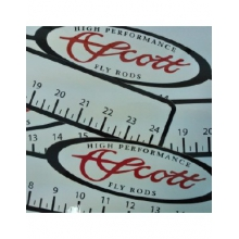 Ruler Decal - 24 in by Scott Fly Rod
