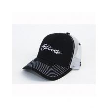 Black/Gray Mesh Trucker Hat by Scott Fly Rod