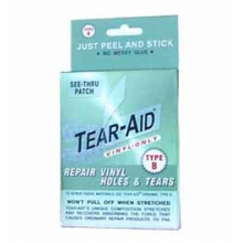 Tear-Aid Vinyl Only Type B - See Thru Patch in Traverse City, MI