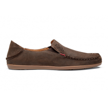 Women's Nohea Nubuck, Dark Java/Tan, 10 by Olukai