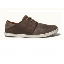 mens nohea lace mesh mustang/ dark java by Olukai