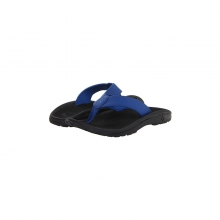 Mens Ohana Sandals Blue Hawaiian/Black 13 by Olukai