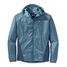 Men's Helium Hybrid Hooded Jacket by Outdoor Research in Eagle River Wi