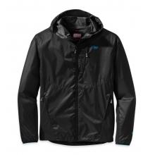 Men's Helium Hybrid Hooded Jacket by Outdoor Research in Logan Ut