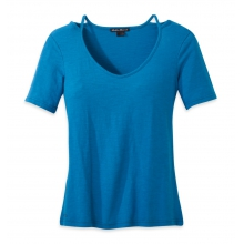 Women's Camila High-Low Tee by Outdoor Research in Milwaukee Wi