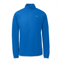 Men's Echo L/S Zip Tee by Outdoor Research in Ellicottville Ny