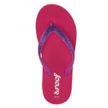 Little Stargazer Flip Flops - Girl's-Pink/Purple-7/8