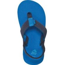 - Kids Todos Flip Flop - 5-6 - Navy / Stripe